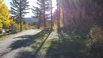 Power campsite