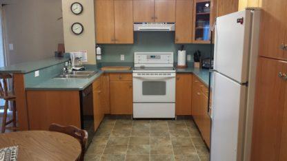 Aframe main level kitchen