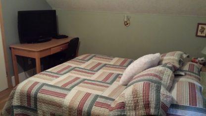 Aframe upstairs bedroom tv/dvd