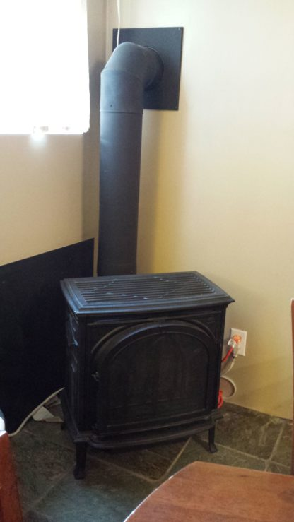 Bunkhouse gas fireplace