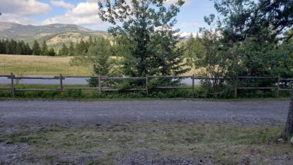 Campsite Site 8 view